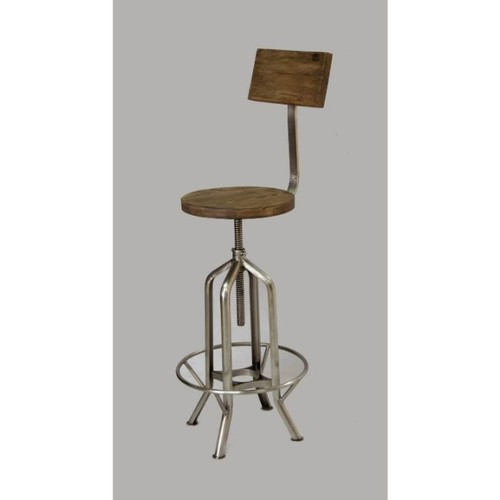 Modern Height Adjustable Bar Stool