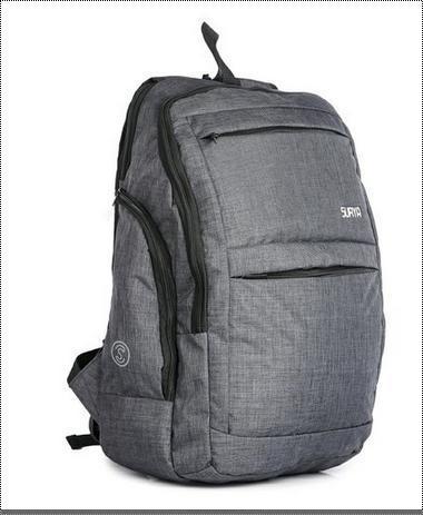 Precise Design Grey Laptop Backpack