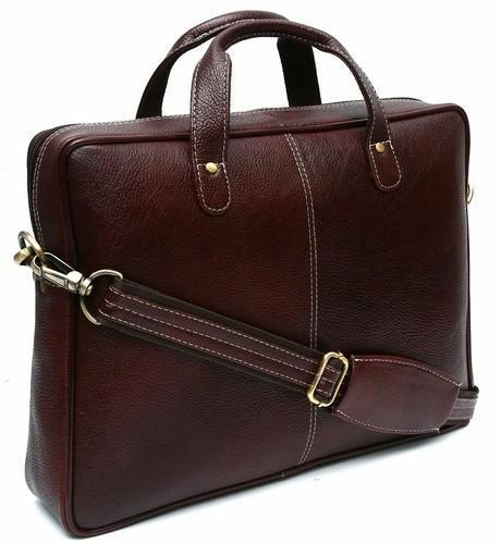 Pure Leather Messenger Bag
