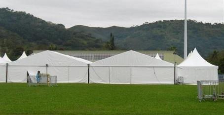 Rectangular Frame Tent