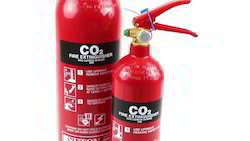 Red Color Fire Extinguisher (CO2)