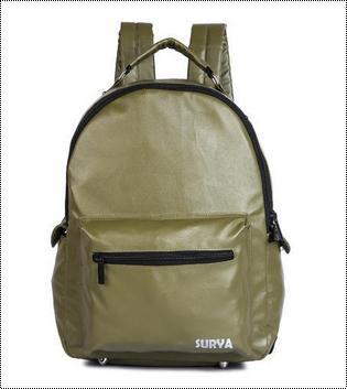 Scratch Resistance Surya Leather Backpack
