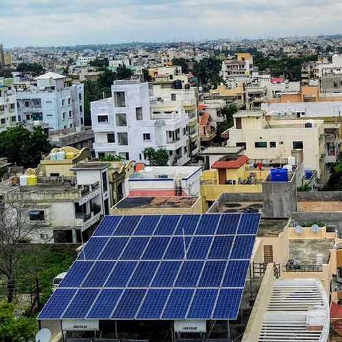 10 Kilowatt Residential On Grid Solar System, Grid Type: On Grid