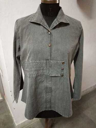 100% Cotton Ladies Shirt