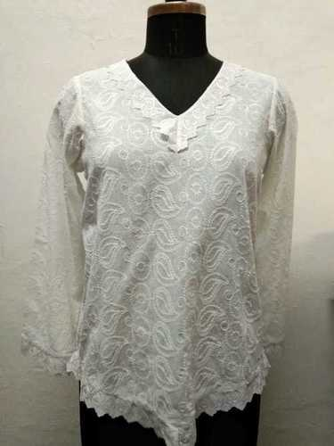 100% Cotton Woven Ladies Top