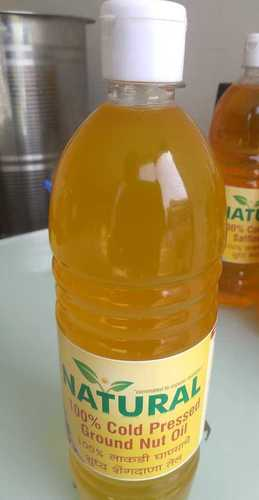 100% Pure Cold Pressed Ground Nut Oil