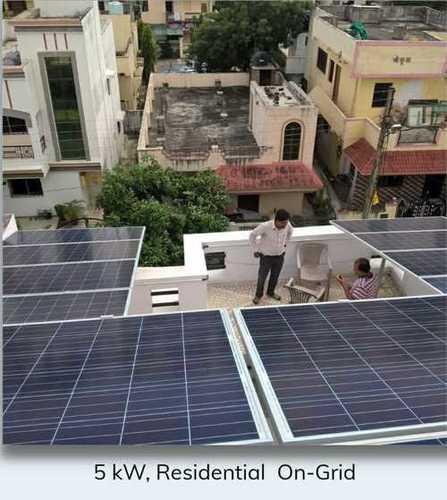 5 Kilowatt Residential On Grid Solar System
