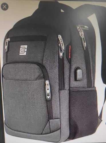 Black Color Backpack Bag