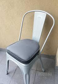 Classic Cushion Seat Metal Chair