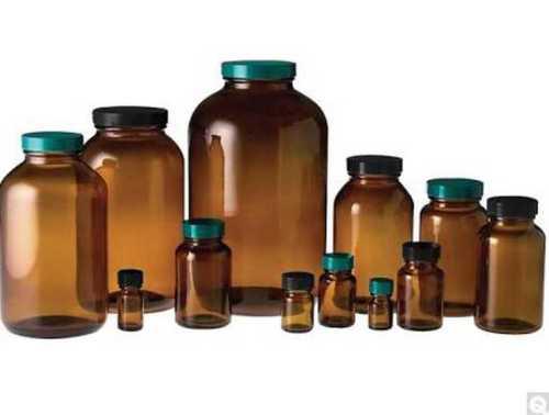 Durable Amber Glass Bottle