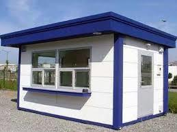 Durable And Portable Security Guard Cabin