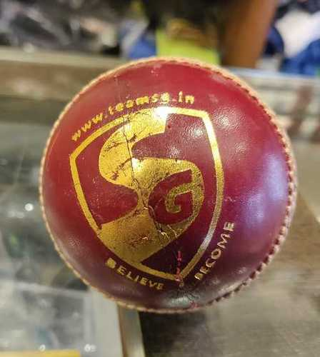 Eco Friendly Leather Cricket Ball