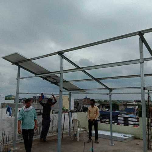 Galvanized Structure Mounting with Fine Finishing
