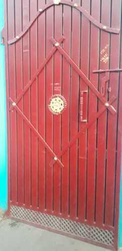 Iron Main Entry Gate