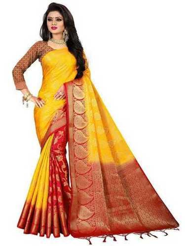Ladies Party Wear Banarasi Silk Sarees