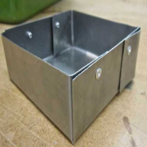 Metal Sheet Square Shape Box