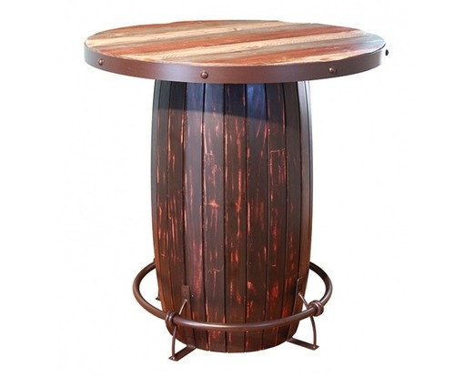 Modern Solid Wood Bar Table