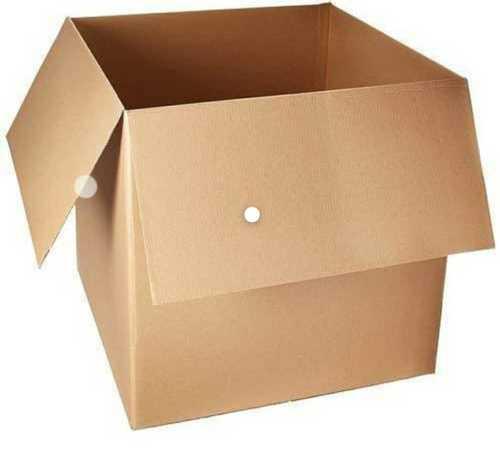 Plain Brown Corrugated Box, Box Capacity: 1-5 Kg
