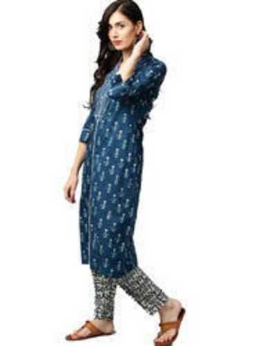 Soft and Solid Colors Casual Wear Cotton Kurtis