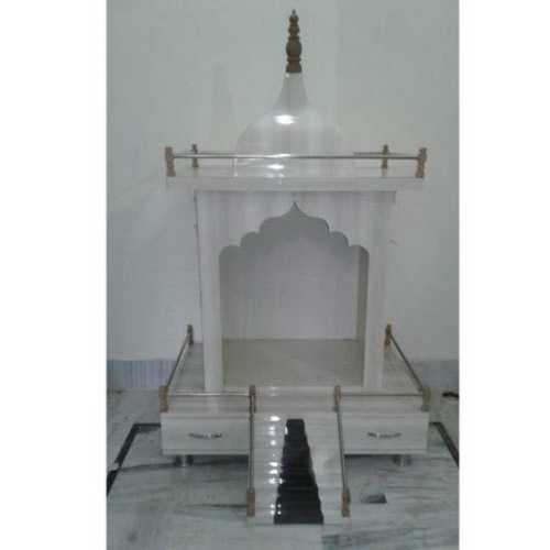 White Plywood Portable Temple