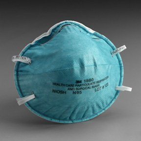 3m 1860 N95 Respirator And Surgical Mask, Bird Flu