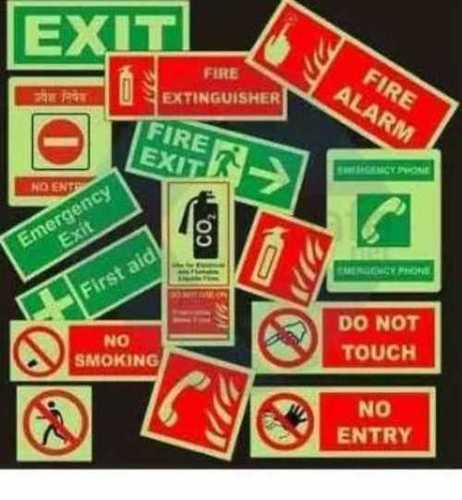 Acrylic Safety Signage, Shape: Rectangle And Square