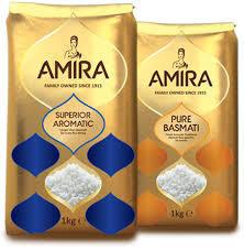 AMIRA Natural Basmati Rice