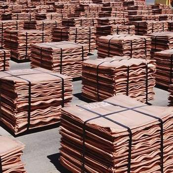 Rectangular Copper Cathode 99.99% Grade A