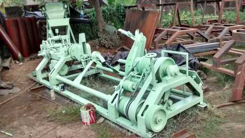 Curled Coir Rope Machine