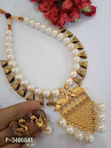 Designer Antique Imitation Necklace Set