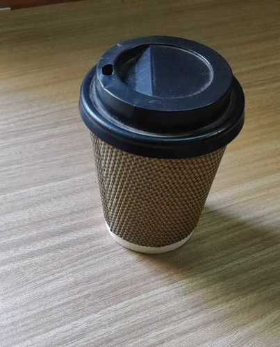 Disposable Coffee Glass With Lid