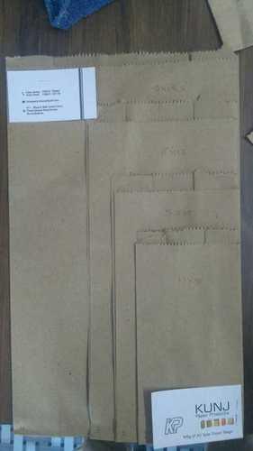 Easy Folding Plain Brown Paper Bag