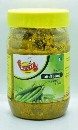 Fresh Green Chilli Pickle