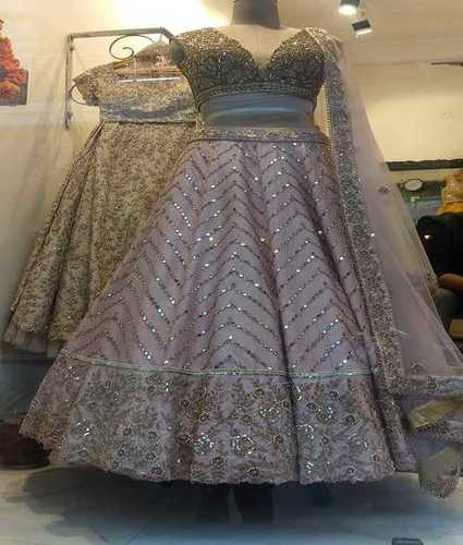 Ladies Fancy Bridal Gown