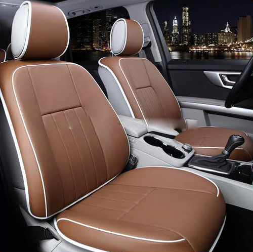 Light Brown Color Seat Cover