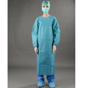 Medical Protective Clothing \\342\\200\\223 Surgical Isolative Gowns (Disposable)