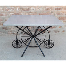 Modern Metal Dining Table