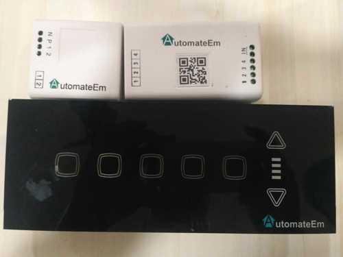 Modular Touch Screen Switchboard