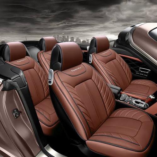 Plain Brown Car Seat Cover