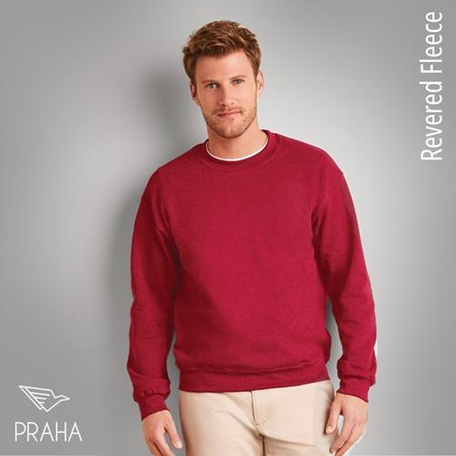 Plain Sweatshirts With Round Neck