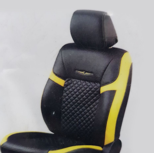 Yellow-Black Car Seat Cover