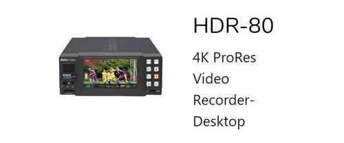 4K ProRes Video Recorder Desktop