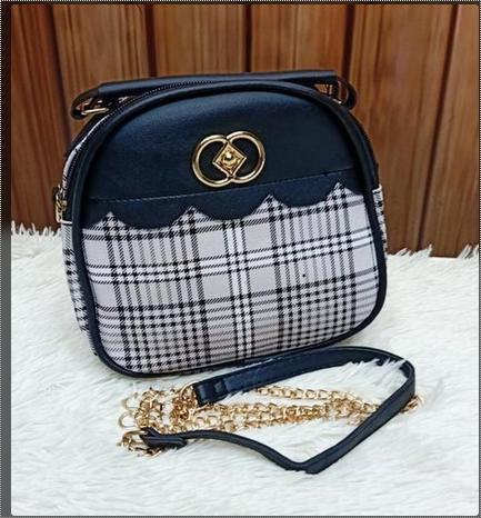 Adjustable Strap Ladies Sling Bag
