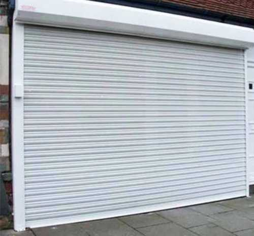 Aluminium Automatic Rolling Shutter, Thickness: 15-25 mm