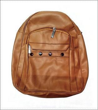 Brown Rexine Ladies Bag
