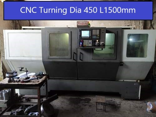 CNC Turning Machine 1500mm Length