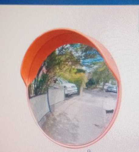 Convex Mirror for Road Safety Purpose