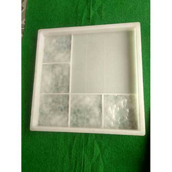Glossy Chequered Tile Silicone Mould