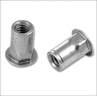 Half Hex Rivet Nut