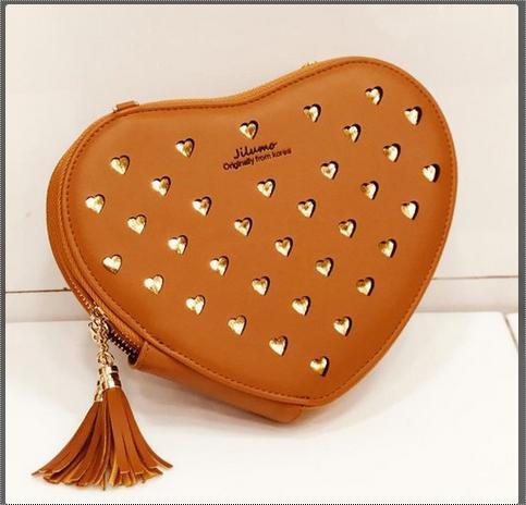 Heart Shape Slings Bag
